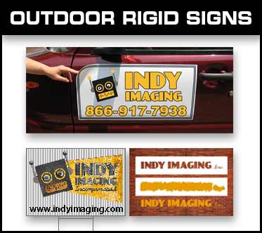 Outdoor Rigid Signs