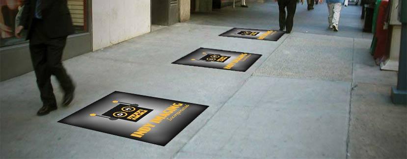 Pavement & Sidewalk Decals