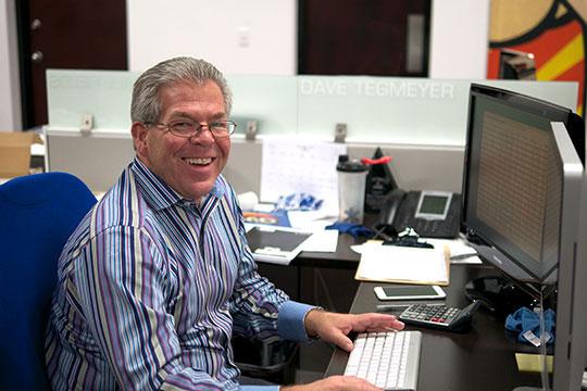 Dave Tegmeyer - Sales Manager