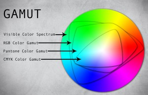 Color Gamut Visual Aid