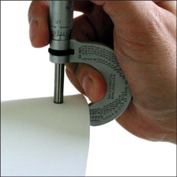 Material Weight & Caliper
