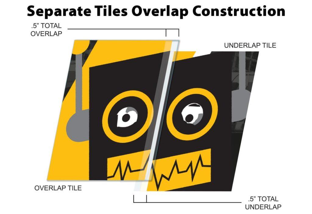 Invisi-Lap Separate Vertical Tiles