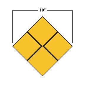 """10"""" Diamond"""