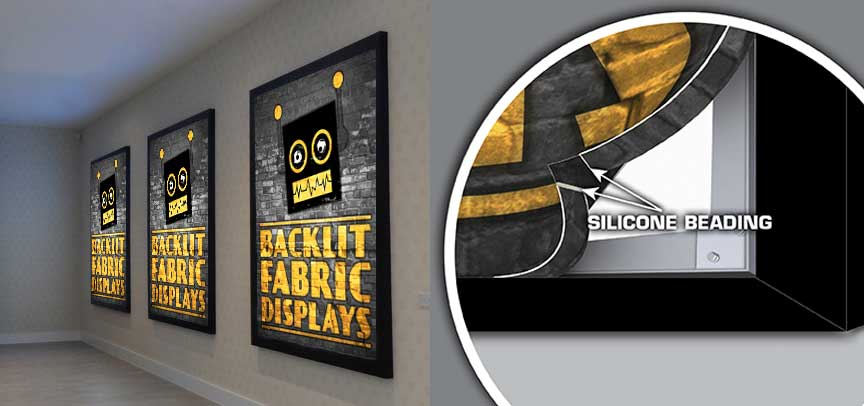 Backlit Fabric Displays
