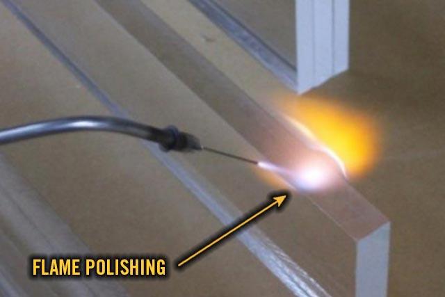 Flame Polishing For Acrylic Indy Imaging Inc