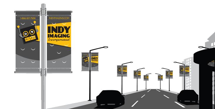 Vinyl Pole Banners