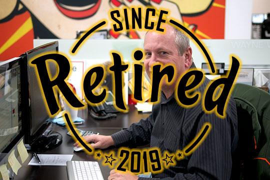 Wayne Willis - Retired 2019