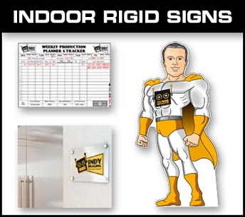 Indoor Rigid Signs