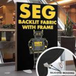 SEG Backlit Fabric with Frame