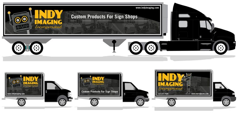 Truck Side Banners