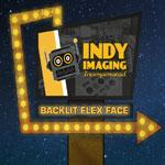 Backlit Flex Face