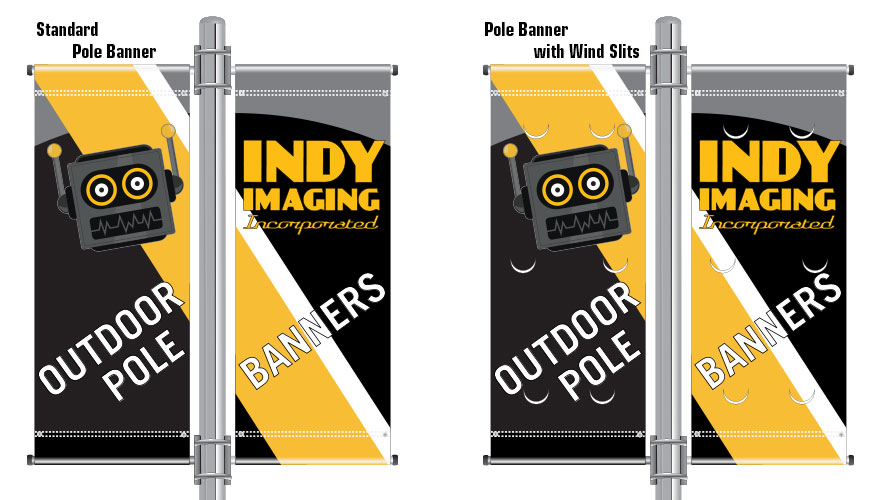 Outdoor Pole Banners