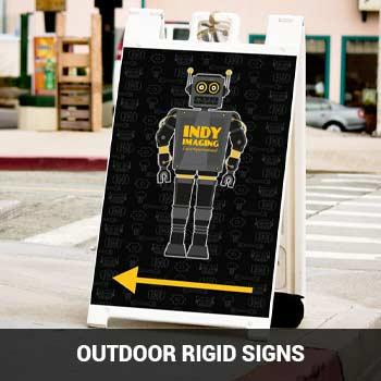 Outdoor Rigid Signs Feature