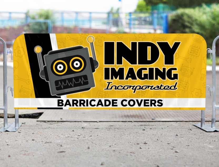 Vinyl Barricade Covers