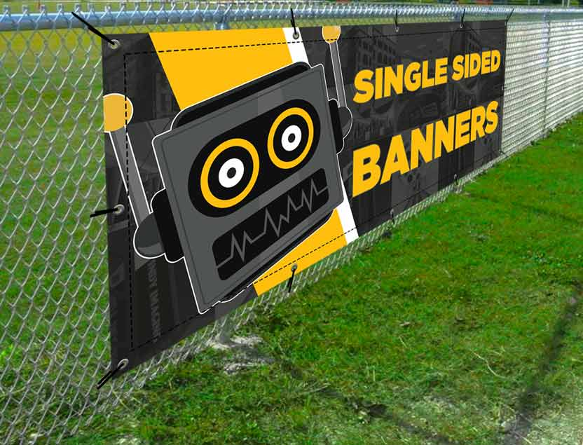 Vinyl Single Sided Banners