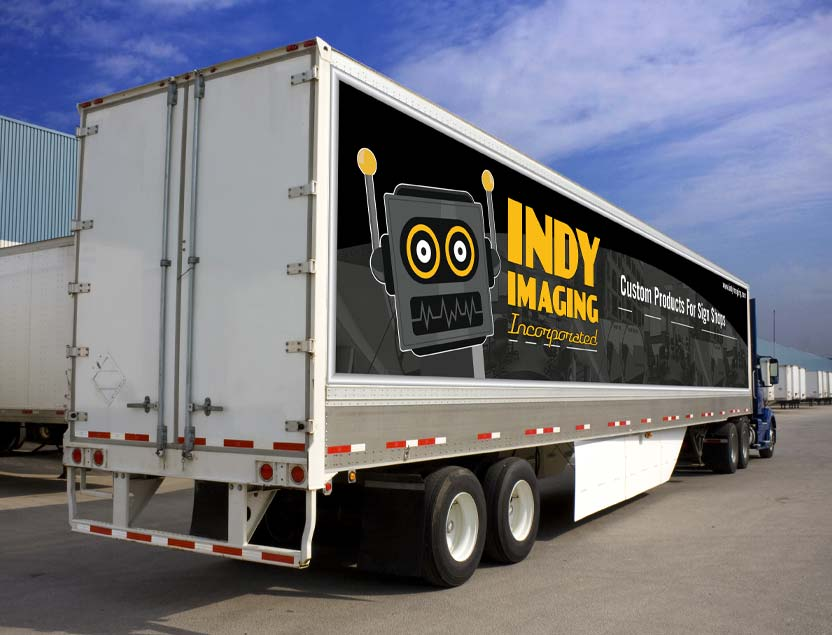 Vinyl Truck Side Banners